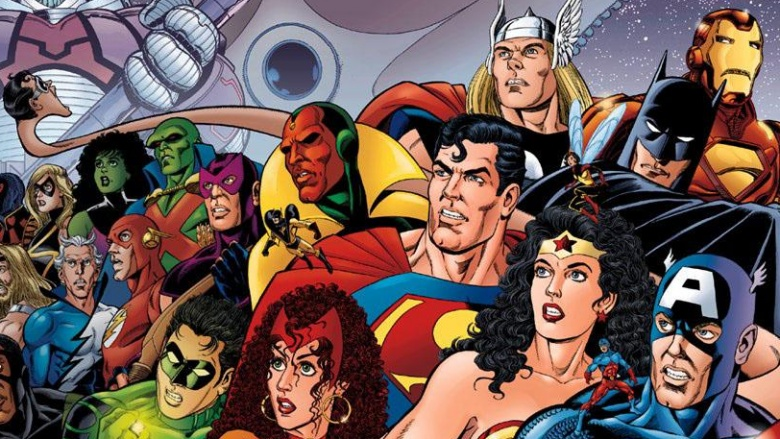 Characters DC stole from Marvel and gave a new name