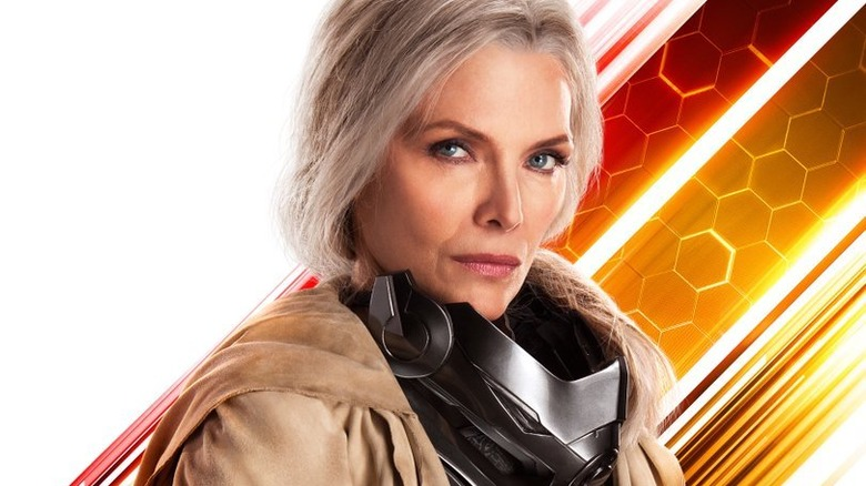 Michelle Pfeiffer as Janet van Dyne Ant-Man and the Wasp poster