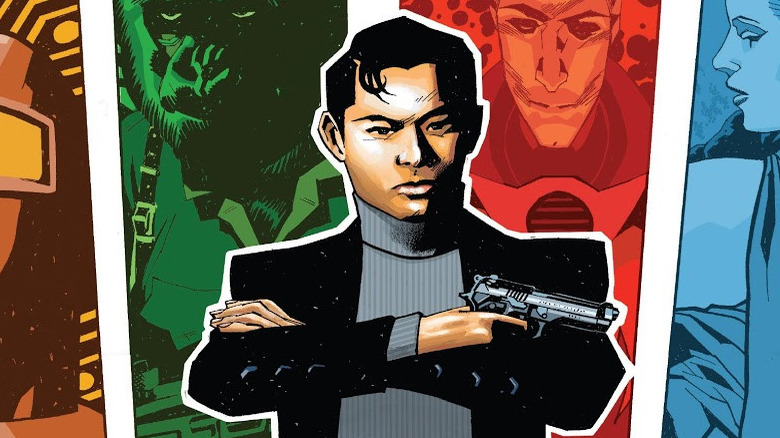 Special Agent Jimmy Woo Agents of Atlas cover
