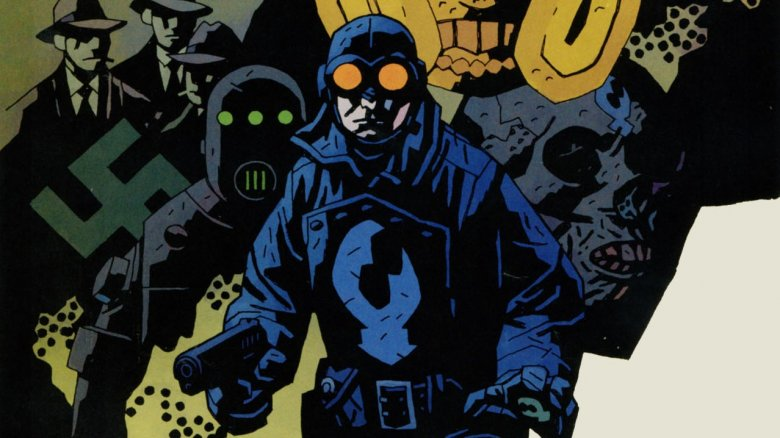 Lobster Johnson from the Dark Horse Comics by Mike Mignola