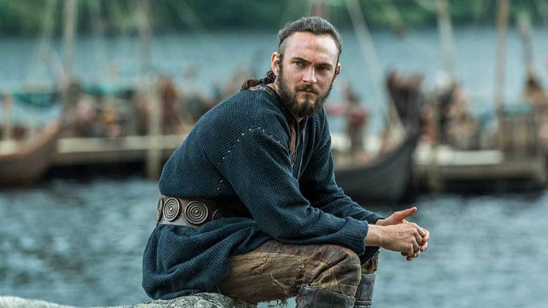 Athelstan sitting by water