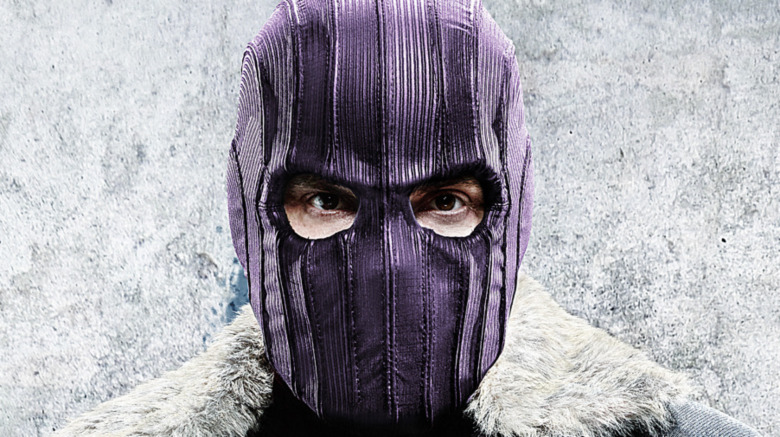 Zemo wearing purple mask
