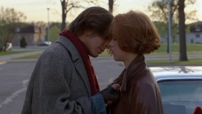 Judd Nelson and Molly Ringwald in The Breakfast Club