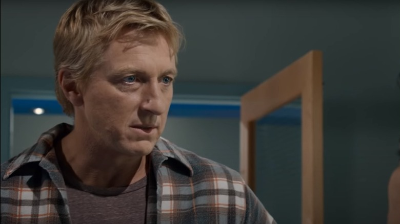 Billy Zabka emoting