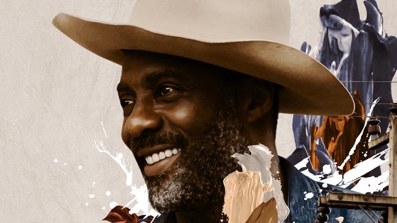 Idris Elba Concrete Cowboy movie poster