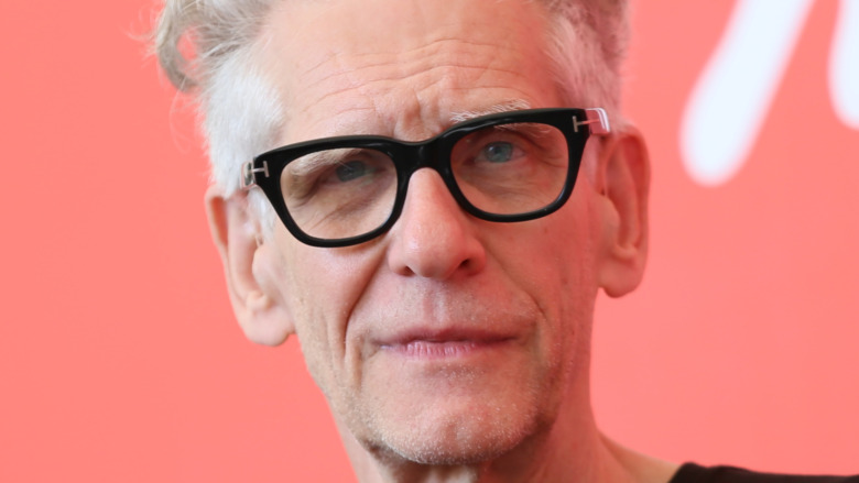 David Cronenberg close-up