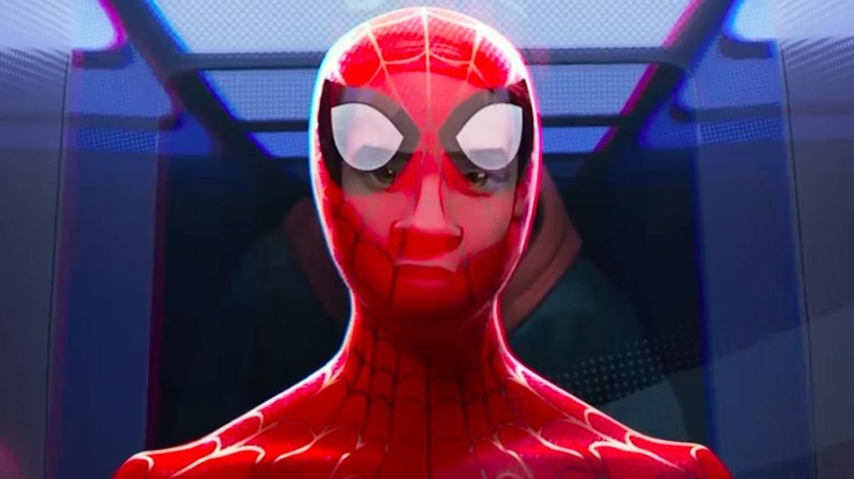 Spider-Man Into the Spider-Verse Miles and suit