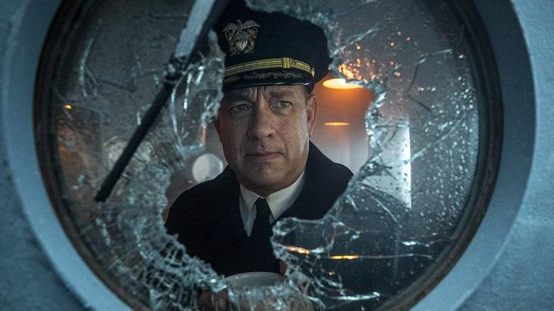 Tom Hanks as Commander Krause in Greyhound