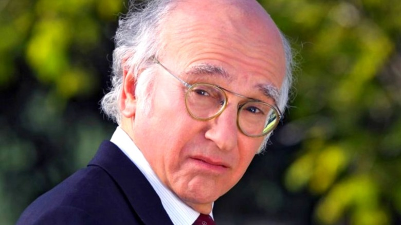 Larry David looks confused