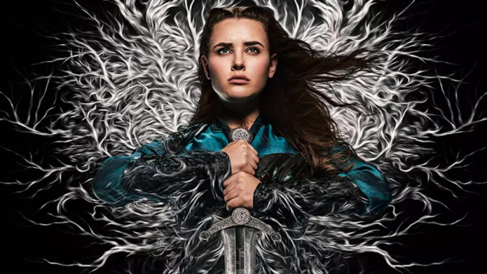 Katherine Langford in promo material for Netflix's Cursed