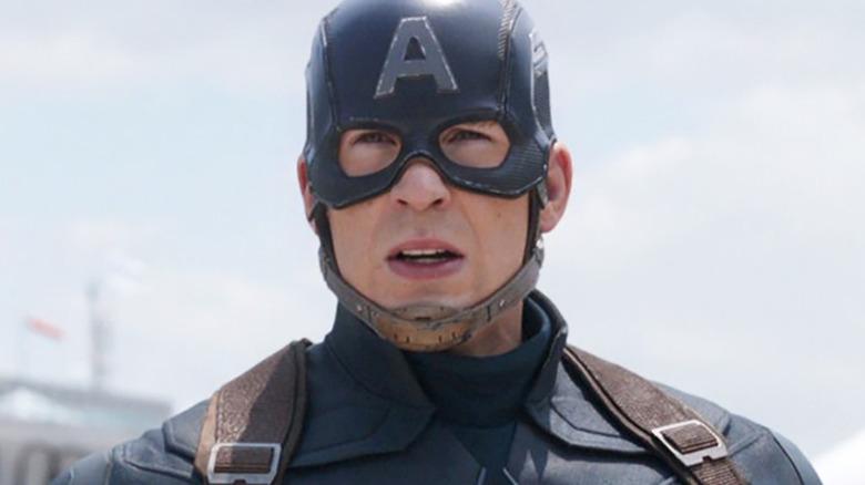 Captain America Civil War Chris Evans Steve Rogers