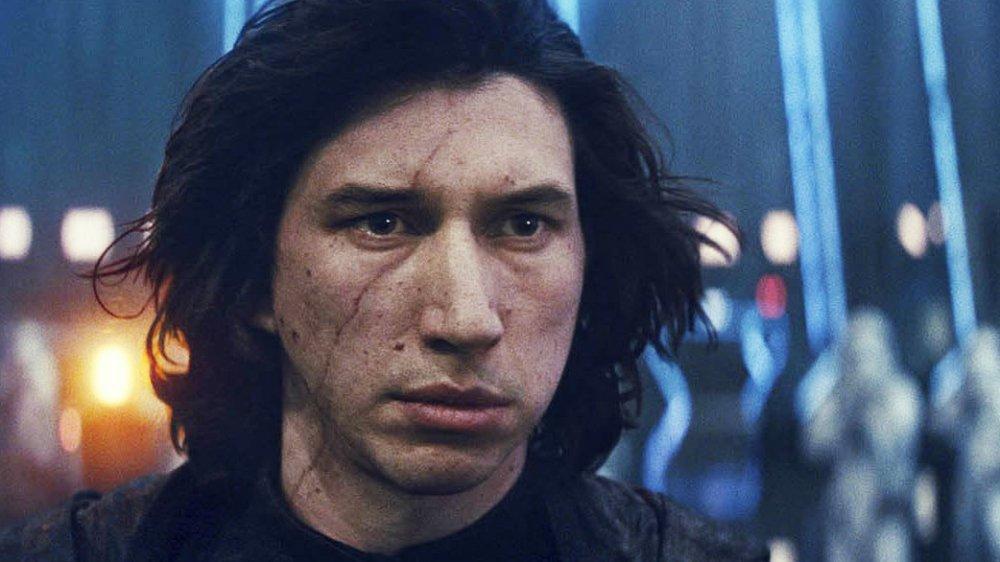 Adam Driver as Kylo Ren in Rise of Skywalker