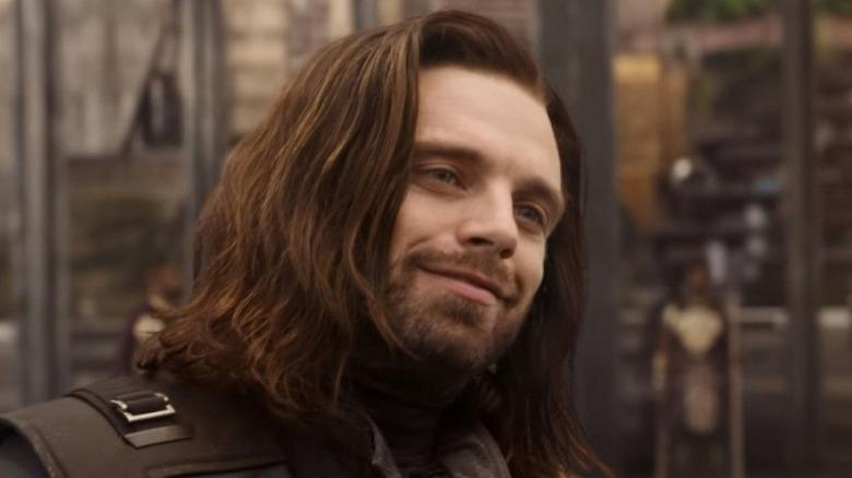 Sebastian Stan as Bucky Barnes in Avengers Infinity War