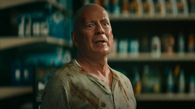 Bruce Willis as John McClane in DieHard is back