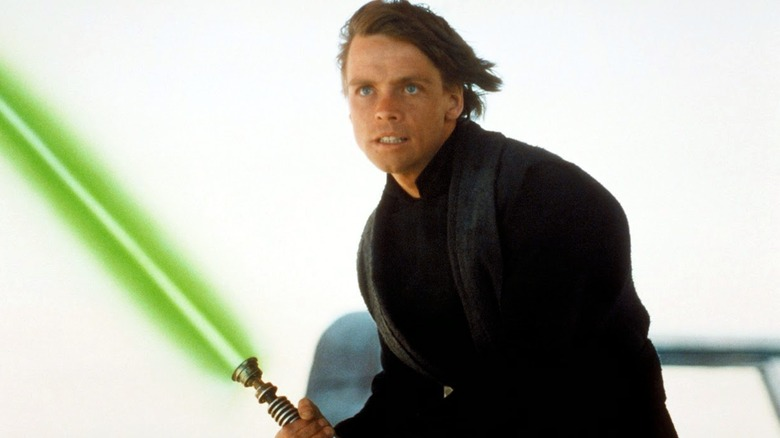 Mark Hamill in Return of the Jedi