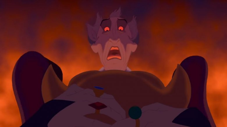 Frollo in The Hunchback of Notre Dame