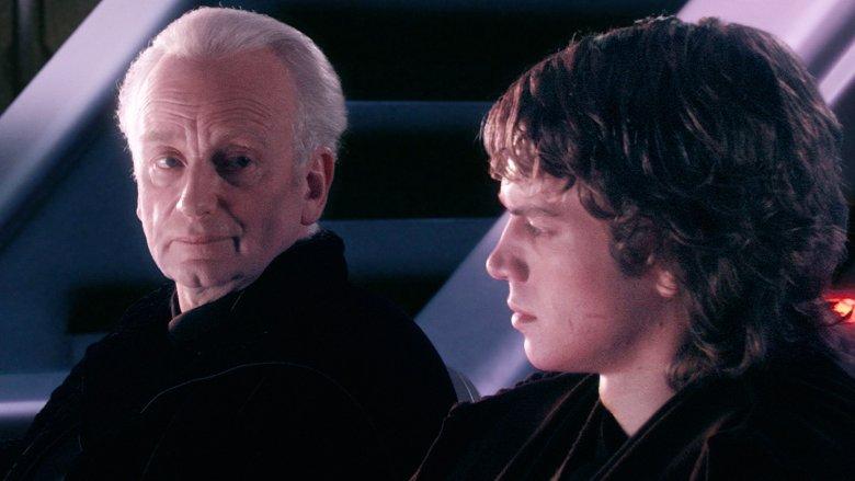 Emperor Palpatine and Anakin Skywalker