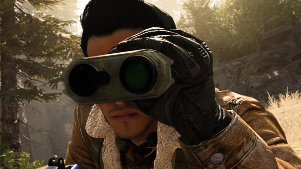Modern Warfare spotter scope
