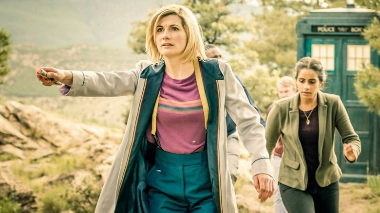 Jodie Whittaker as the newest Doctor Who