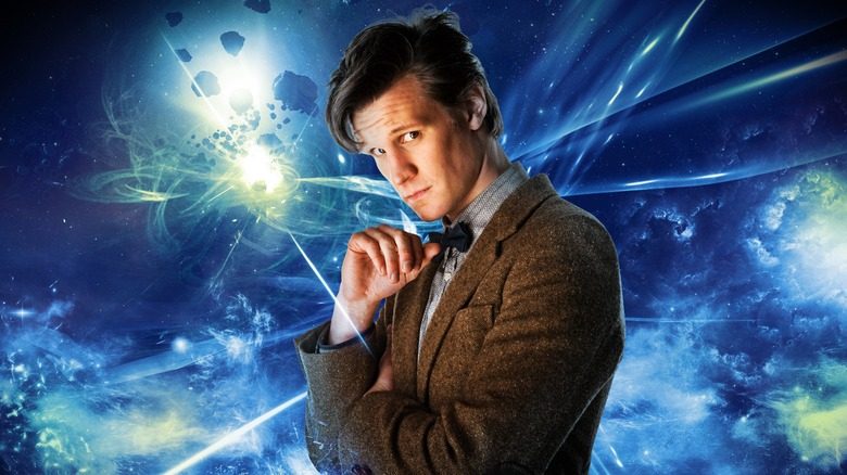 Matt Smith as the Eleventh Doctor in BBC's Doctor Who