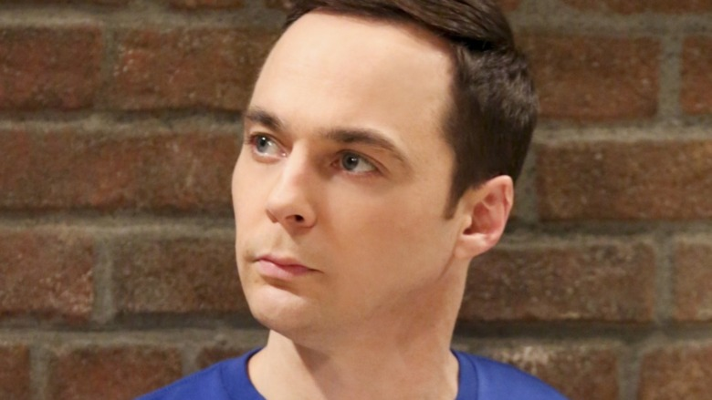 Jim Parsons in close-up