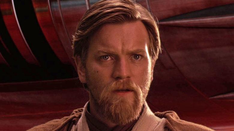 Obi-Wan looking worried