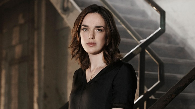 Elizabeth Henstridge as Jemma Simmons on Agents of S.H.I.E.L.D.