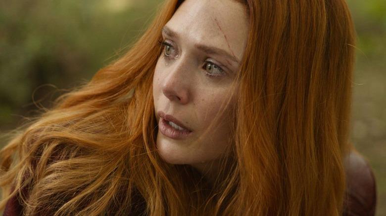 Elizabeth Olsen Scarlet Witch Avengers Infinity War
