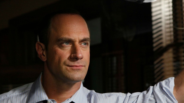 Christopher Meloni as Elliot Stabler on Law & Order: Special Victims Unit