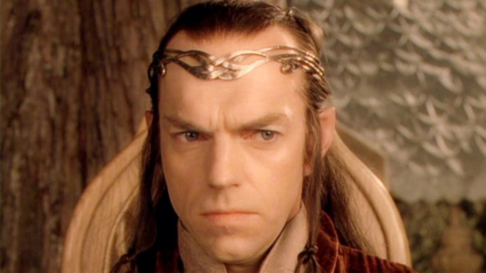 Hugo Weaving in The Lord of the Rings, Elrond
