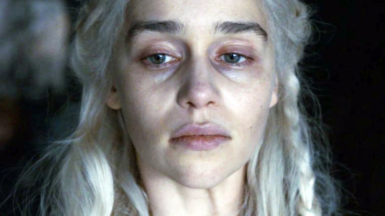 Emilia Clarke Daenerys Targaryen Game of Thrones season 8 episode 5
