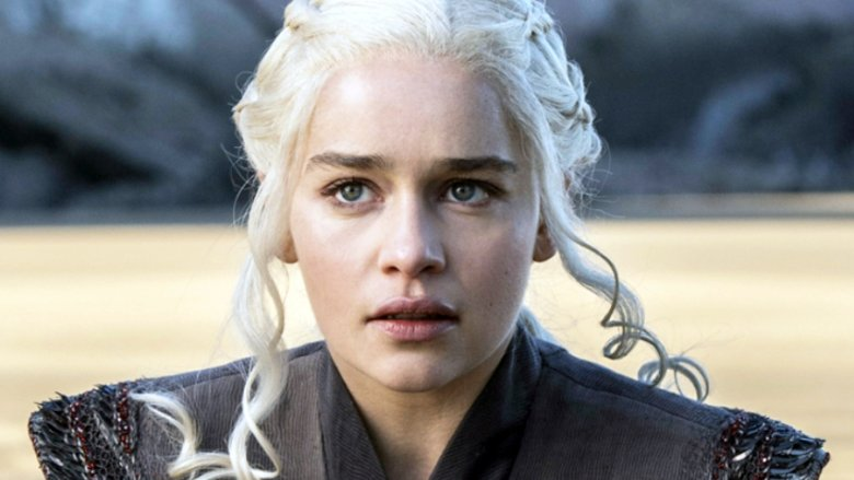 Emilia Clarke Goes Blonde For Game Of Thrones