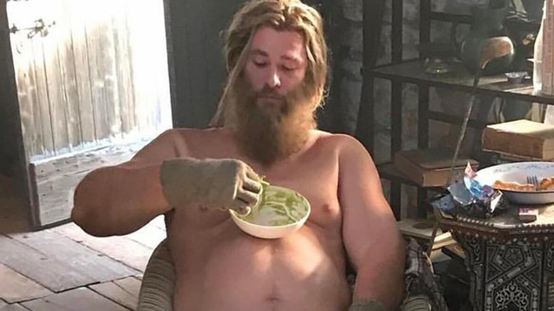 How Hemsworth Reacted To Fat Thor In Endgame