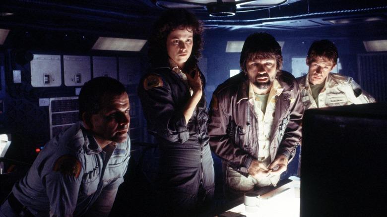Alien Nostromo crew