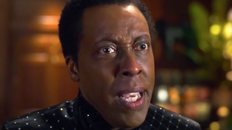 Arsenio Hall acting in Coming 2 America