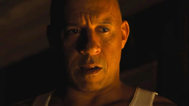 Close up of Vin Diesel