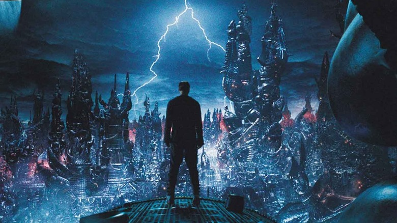 Scene from The Matrix Revolutions