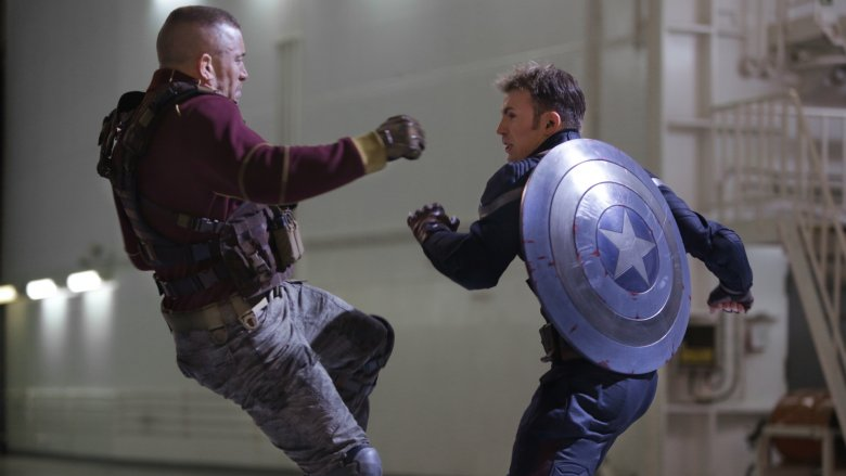 Batroc vs. Captain America