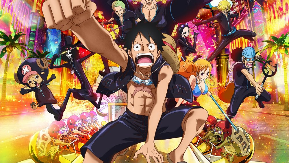 top 5 anime lunghi one piece