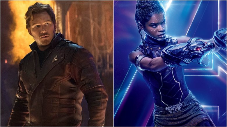 Star Lord and Shuri