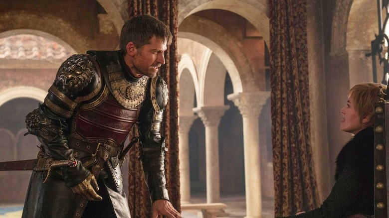 Jaime and Cersei in Game of Thrones