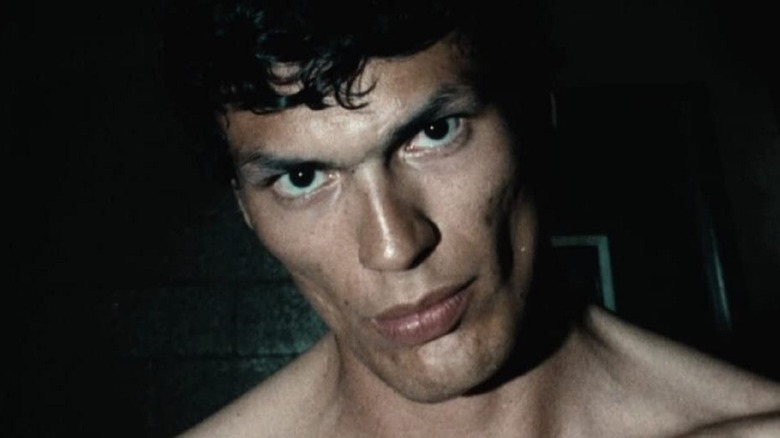 Richard Ramirez shirtless