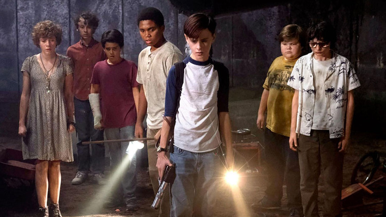 It 2017, Losers Club scene in the sewers of Derry Maine