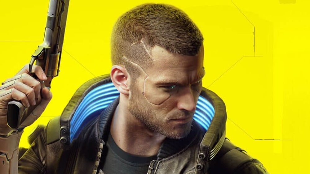 Cyberpunk 2077 main character box art
