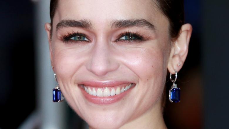 Emilia Clarke smiling