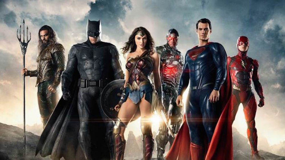 The heroes of the DC Extended Universe