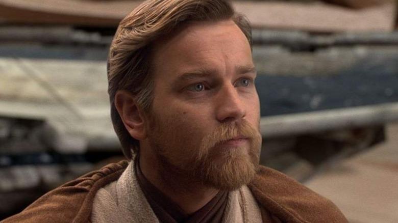 Ewan McGregor as Obi-Wan Kenobi in Disney's Star Wars: Revenge of the Sith
