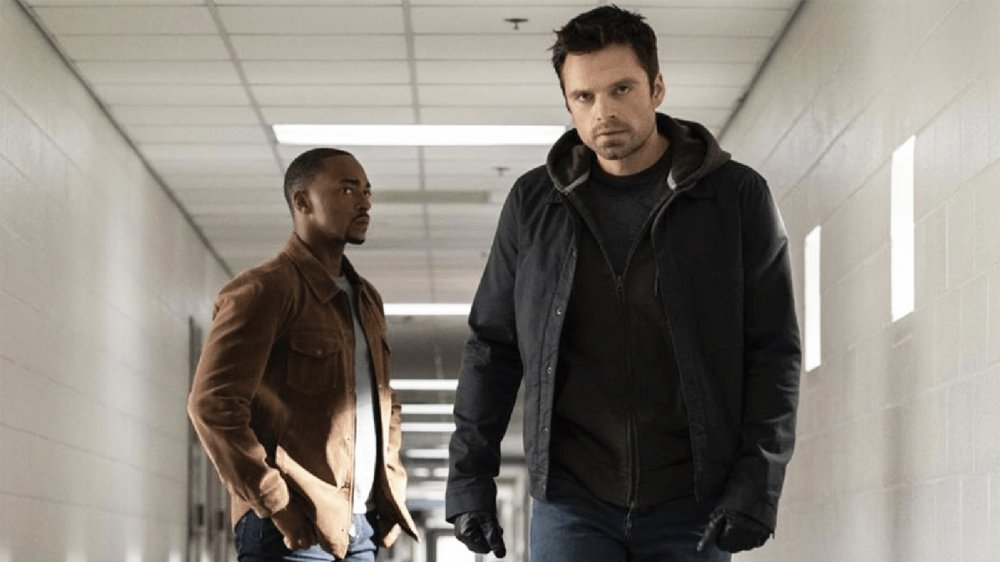Anthony Mackie and Sebastian Stan The Falcon and the Winter Soldier