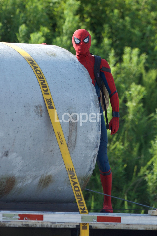 Exclusive: Spider-Man Homecoming Set Photos