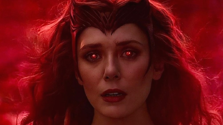 Wanda Maximoff as the Scarlet Witch